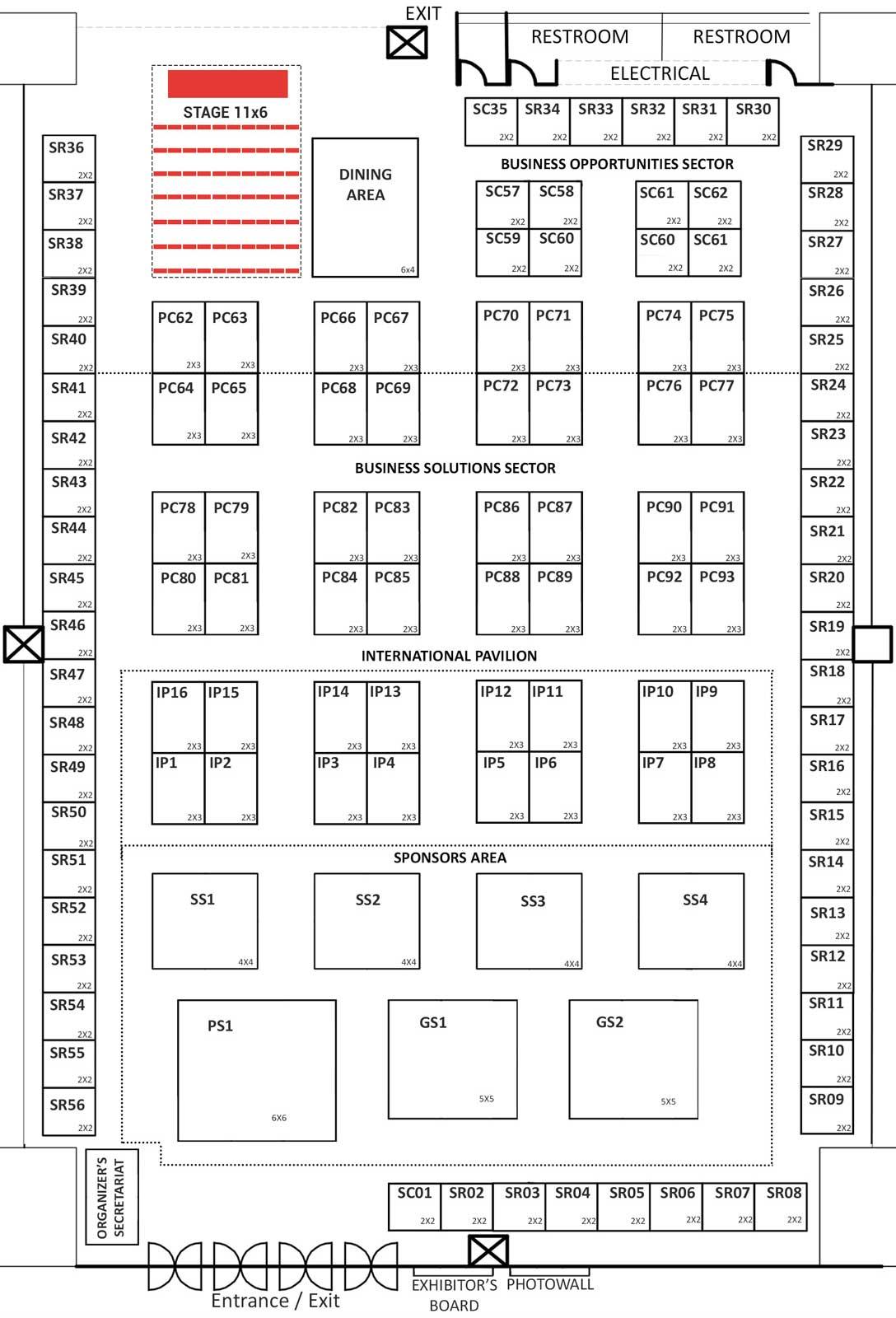 PhilSME 2017 Floor Plan