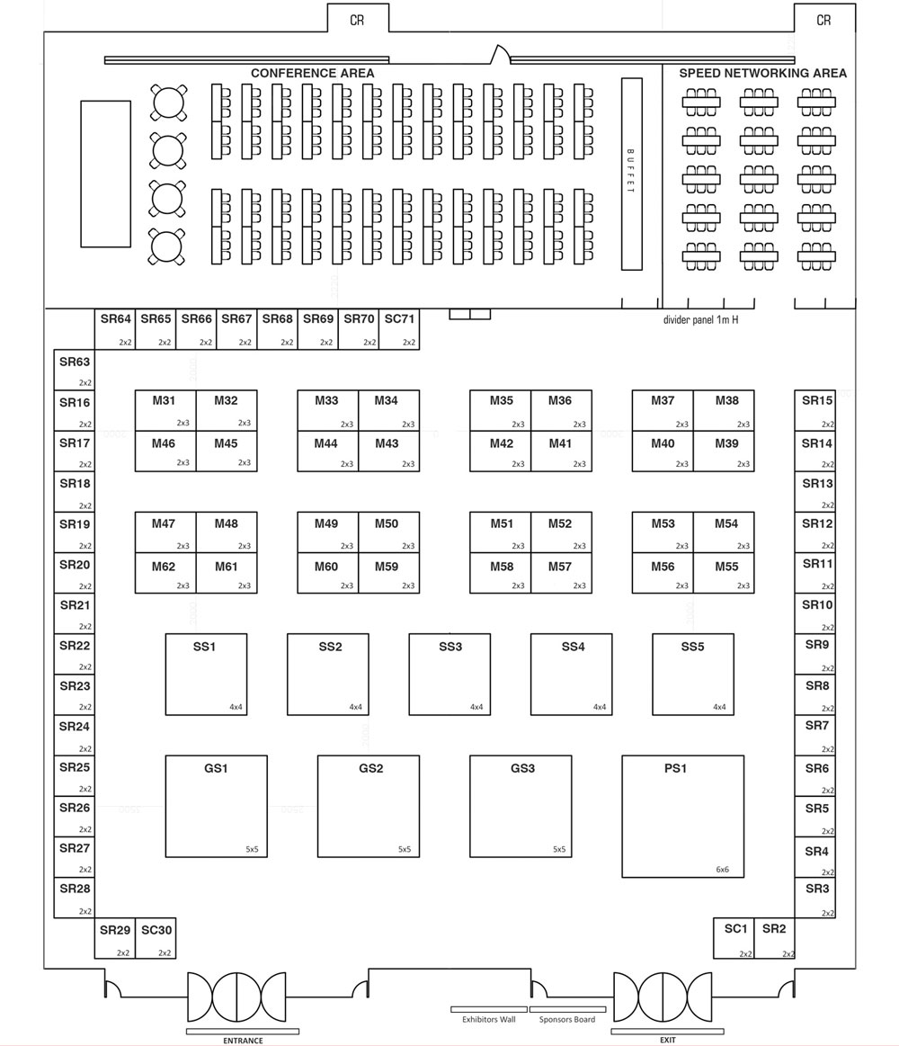 PhilSME 2017 Floor Plan