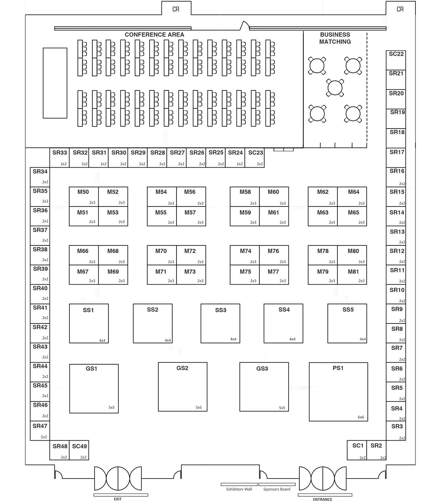 PhilSME 2018 Floor Plan