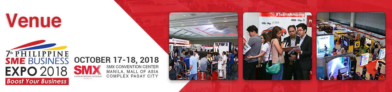 Philippine SME Business Expo Event Venue