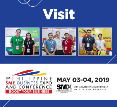Visit Us at Philippine SME Business Expo