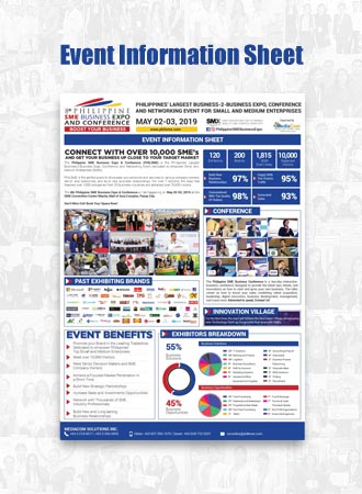 Philippine SME Business Expo Information Sheet