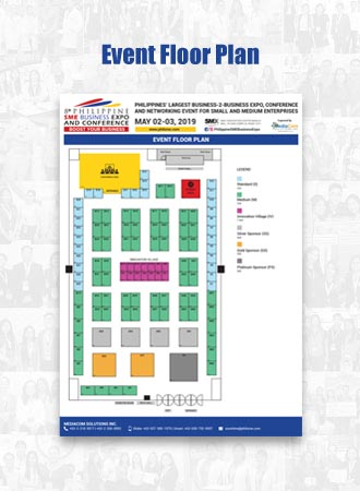Philippine SME Business Expo Floorplan