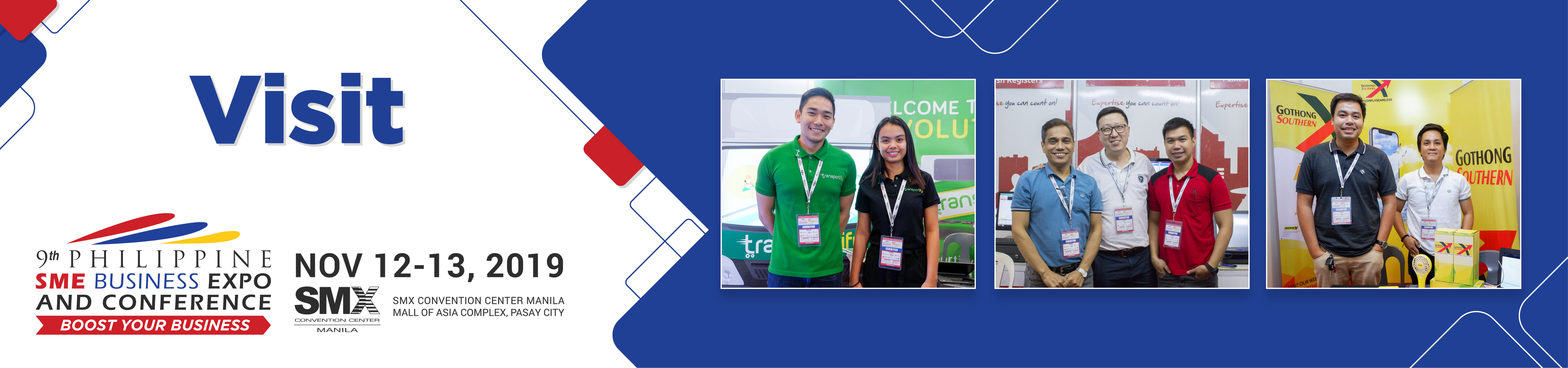 Visit Us | 9th Philippine SME Business Expo 2019