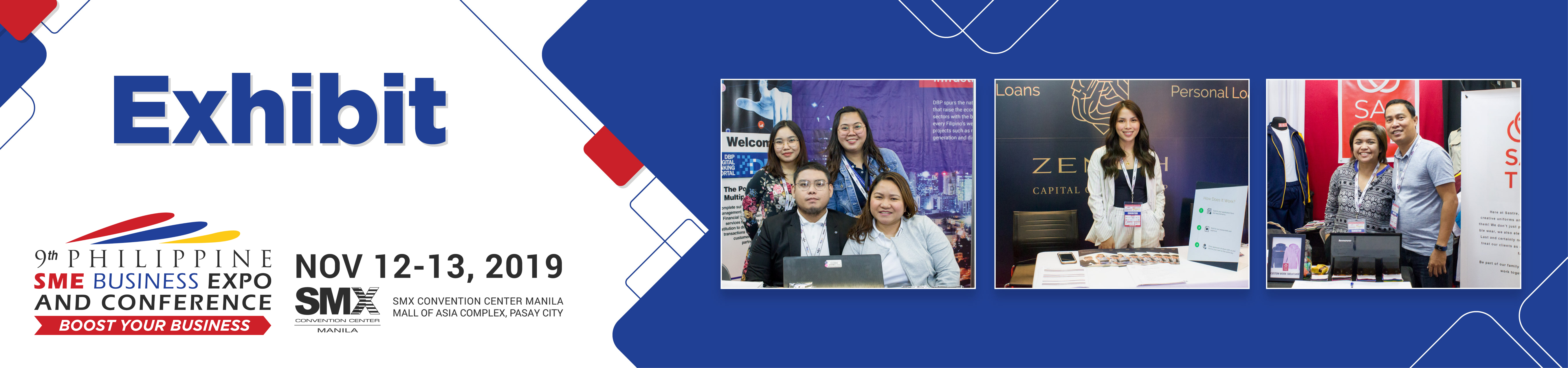 Exhibit at Philippine SME Business Expo