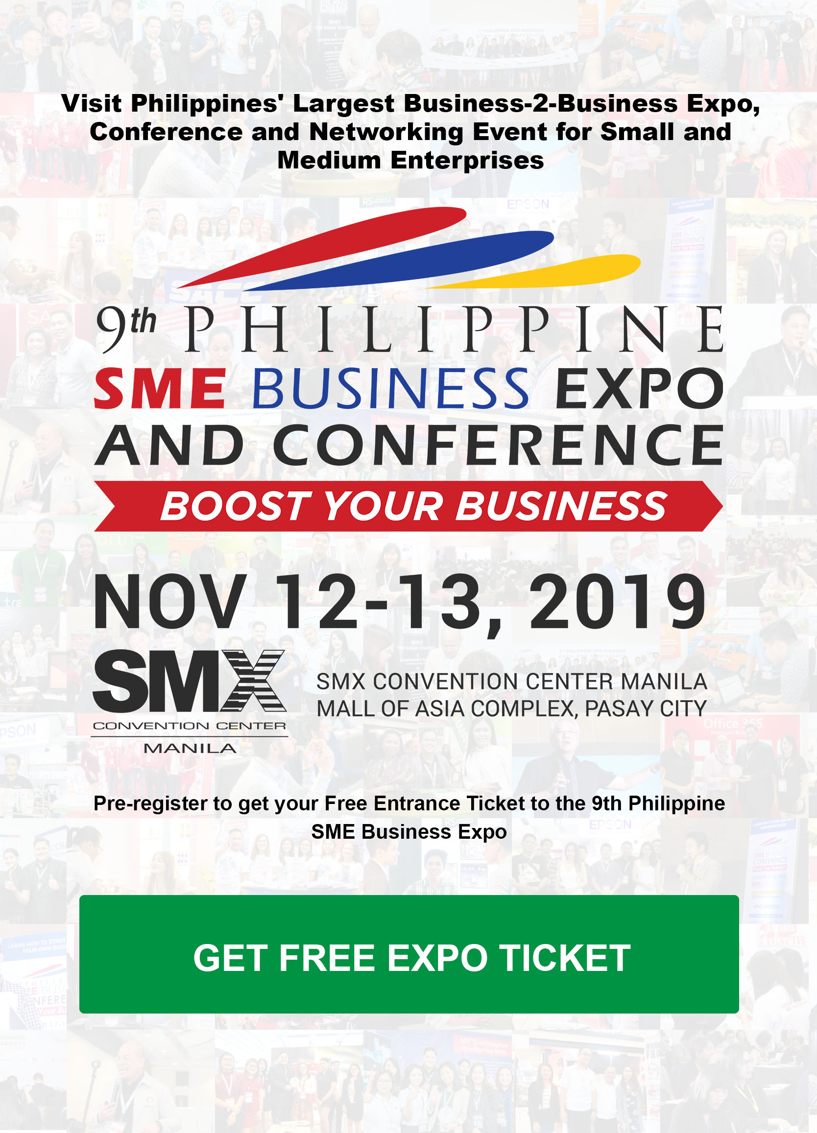 9th Philippine SME Business Expo & Conference - Boost Your Business