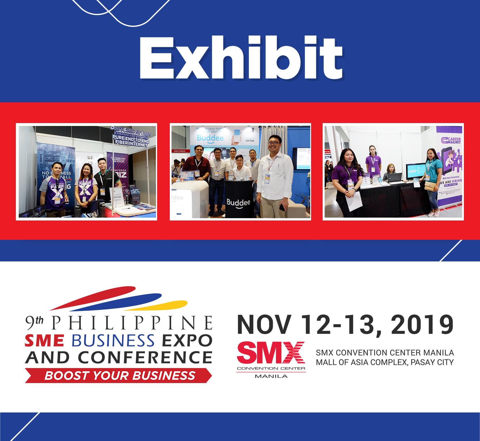 Exhibit at Philippine SME Business Expo